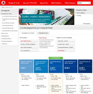 Vodafone Superflat Internet Allnet
