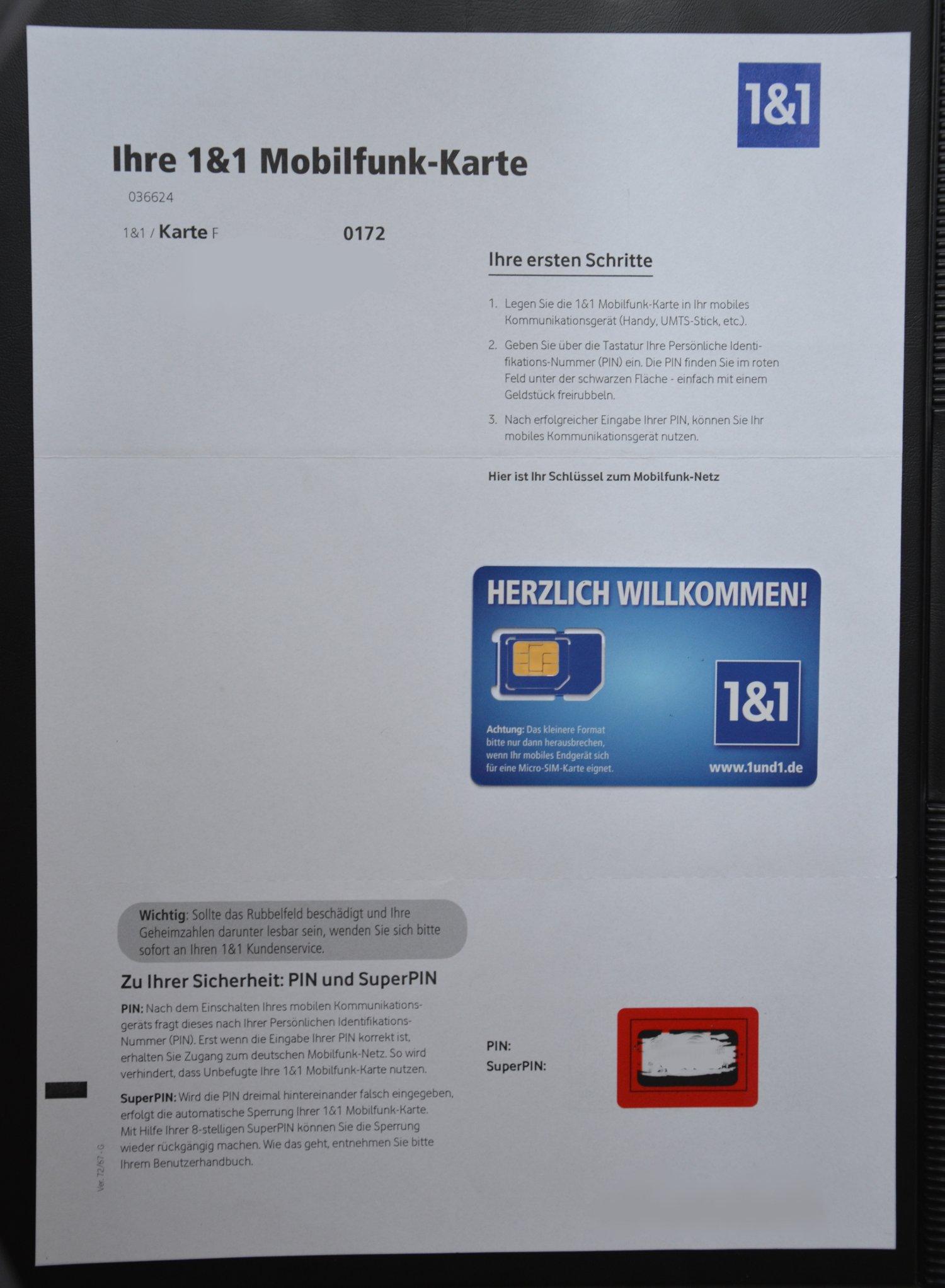 1 1 Nano Sim Karte Bestellen Kosten.1 1 All Net Flat Im Test Erfahrungen Im Vodafone D2 Netz
