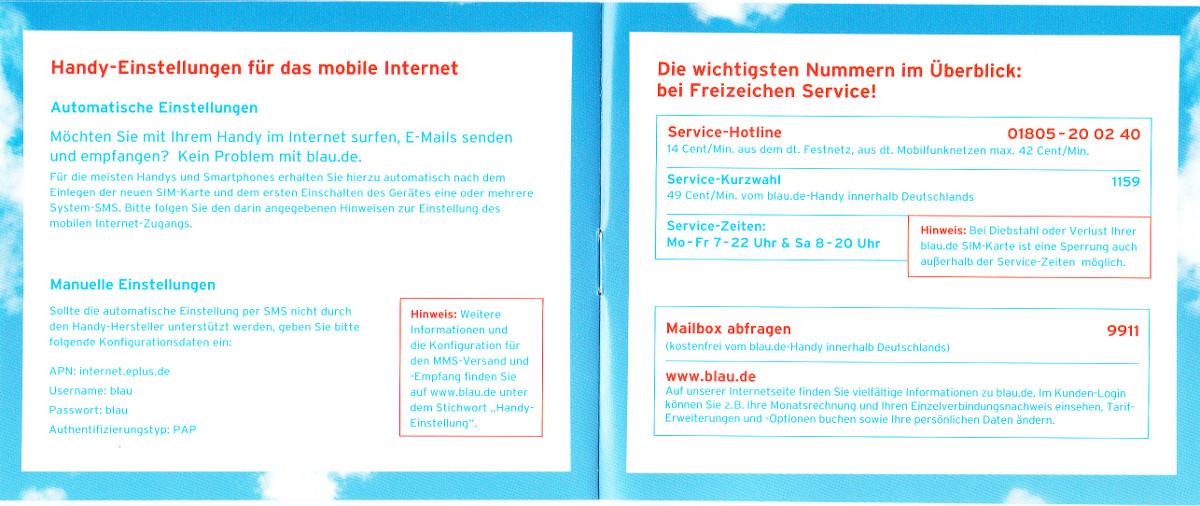 Blau Sim Karte Funktioniert Nicht.Blau Allnet Flat Erfahrungen Testbericht Kundenmeinungen
