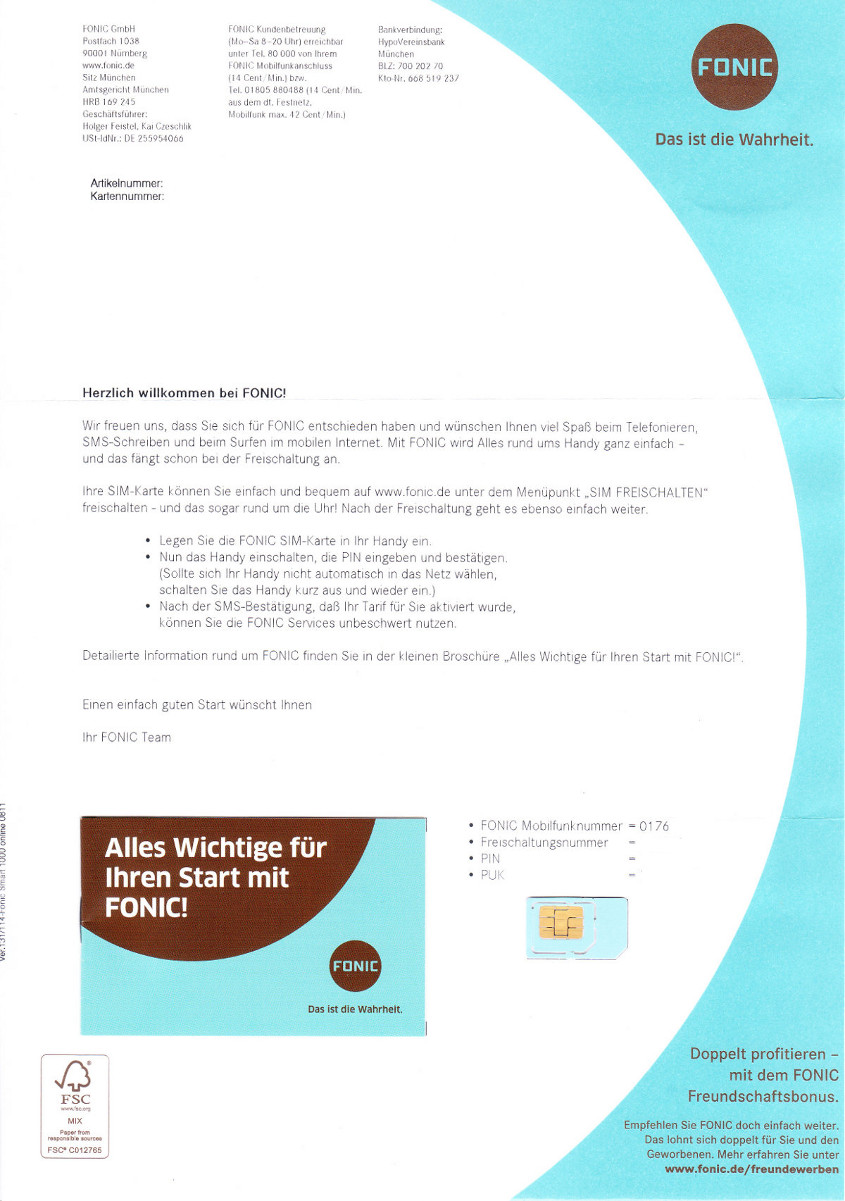 fonic all net flat im test erfahrungen mit dem prepaid tarif. Black Bedroom Furniture Sets. Home Design Ideas