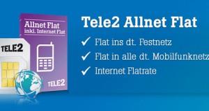Tele2 Allnet Flat mit oder ohne Internet