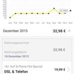 1und1 Rechnung DSL Mobilfunk