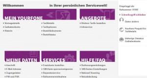 Persönliche Online-Servicewelt