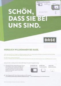 Base Light Brief Triple-SIM Karte